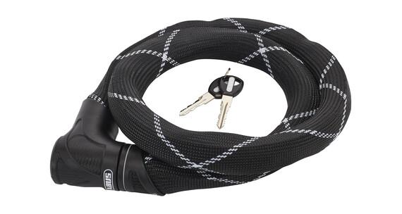 ABUS Steel-O-Flex Iven 8200 Cykellås sort